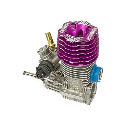 Novarossi ISON .21 On Road .21 Engine 7 Port Turbo Tuned (Steel Bearings