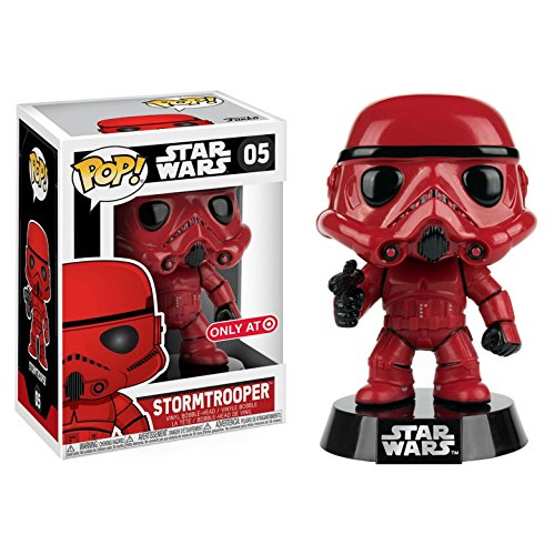 Figura Pop! Star Wars Red Stormtrooper Exclusive