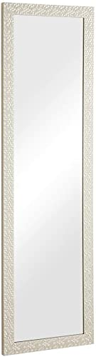 Naomi Home Over The Door Mosaic Mirror Cream/48″ x 14″