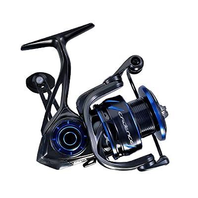 CS10 Spinning Reel,Ultralight Premium Magnesium Frame Fishing Reel with 10+1 Corrosion Resistant Bearings Smooth Powerful Fishing Reel Spinning with 19Lb Carbon Fiber Drag & 6.2:1 Gear Ratio Reels …