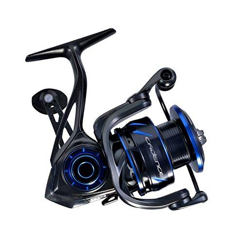Cadence fishing cs10 spinning reel premium magnesium for Fishing reel sizes