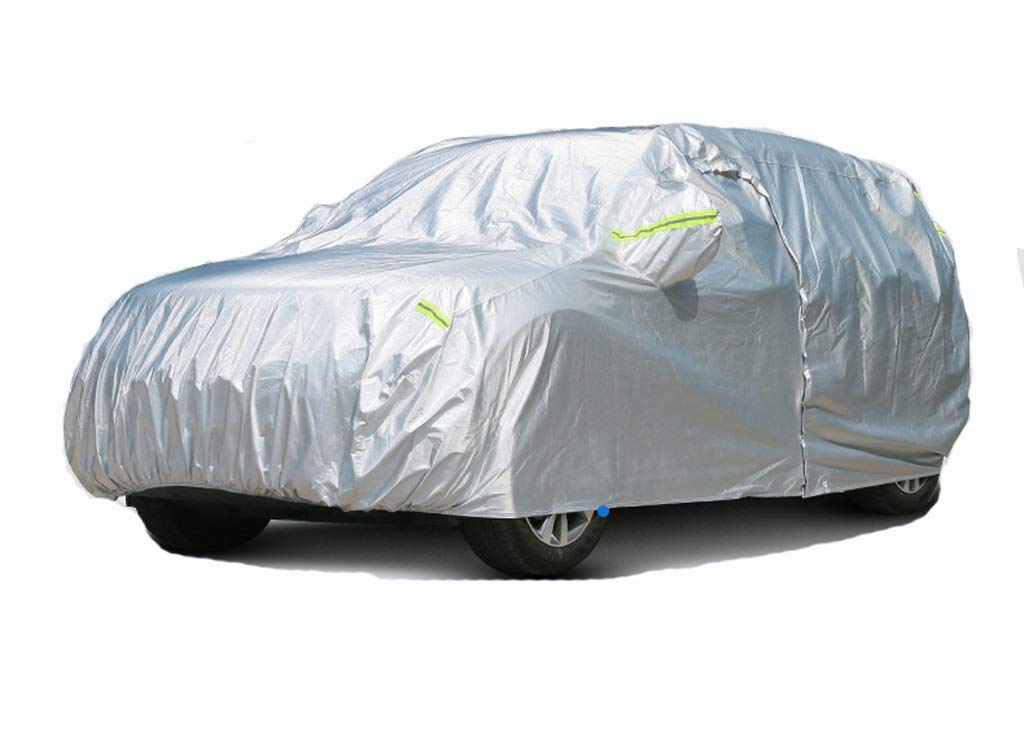 GAOY-CAR COVERS Lexus Es200 Special Car Clothing Car Cover Es300H Thickening Anti-Frost Snow Es250 Sun Protection Rain Car Cover (Color : Silver, Size : Es200)