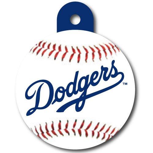 LA Dodgers Pet ID Tag