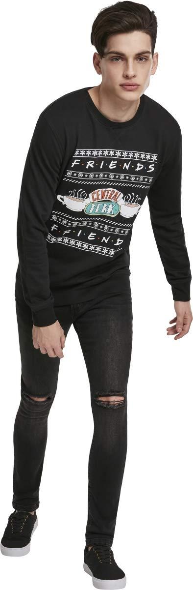 MERCHCODE Herren Friends Central Central Central Perk Christmas Crewneck Sweatshirt B07L13HMFH Sweatshirts & Kapuzenpullover Niedrige Kosten 27fa84