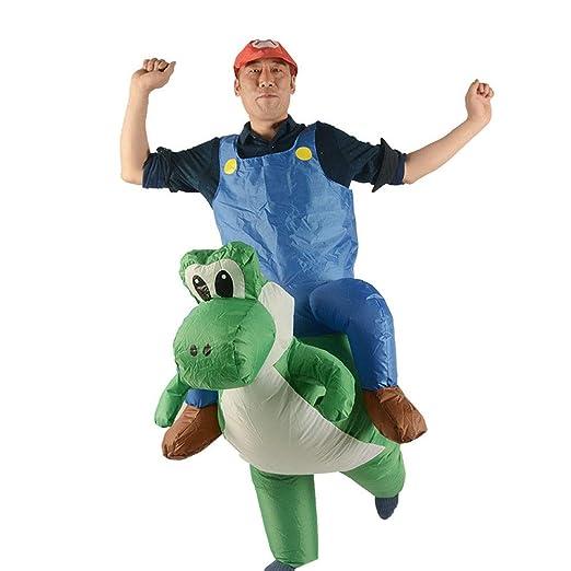 SSBH Adulto Halloween Creativo Dinosaurio Ropa Inflable ...