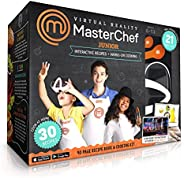 Abacus Brands VR MasterChef Junior - Virtual Reality Kids Cookbook and Interactive Food Science STEM Learning