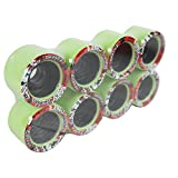 Labeda Quad Wheels Speed Jam Derby Roller Skate Heckler Med Classic 62mm 8-Pack