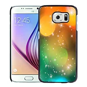New Personalized Custom Designed For Samsung Galaxy S6 Phone Case For Colorful Christmas Lights Phone Case Cover
