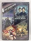 4 Film Favorites Big Time Acition Matrix, Sherlock Holmes, 300 and Sucker Punch