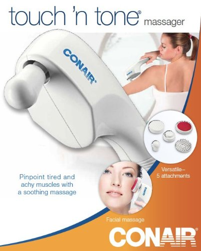 Conair-Touch-N-Tone-Massager-with-5-Attachments