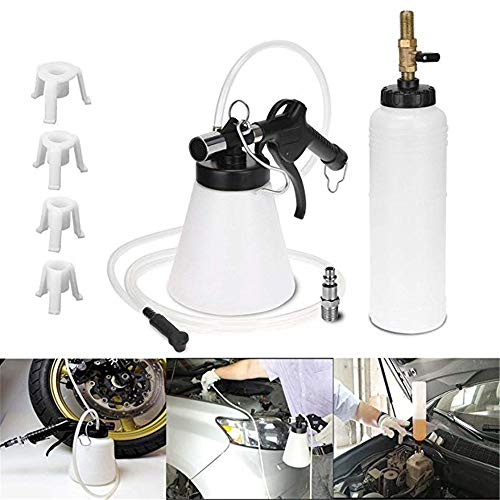 YKYK 1L Pneumatic Brake Fluid Bleeder Kit Car Air Extractor Clutch Oil Bleeding Tool