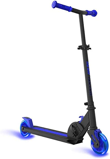 Neon Vector Kick Scooter With LED Wheels Yvolution
