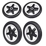 Bugaboo Donkey & Donkey2 Foam Filled Wheels - Replacement Set