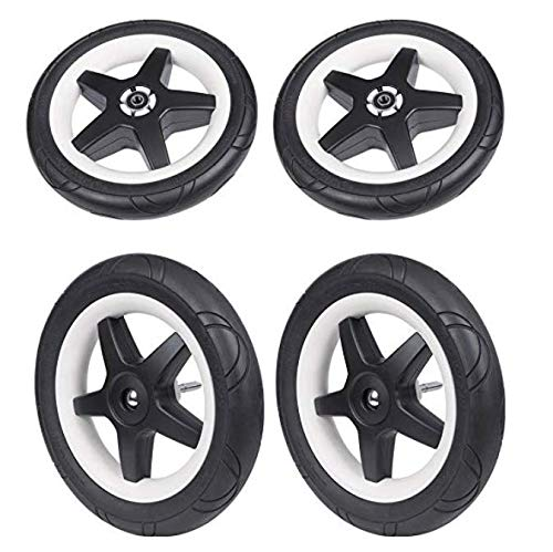 (Bugaboo Donkey & Donkey2 Foam Filled Wheels - Replacement Set)