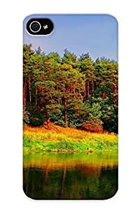 New Style Tpu 4/4s Protective Case Cover/ Iphone 4/4s Case - Lake Forest