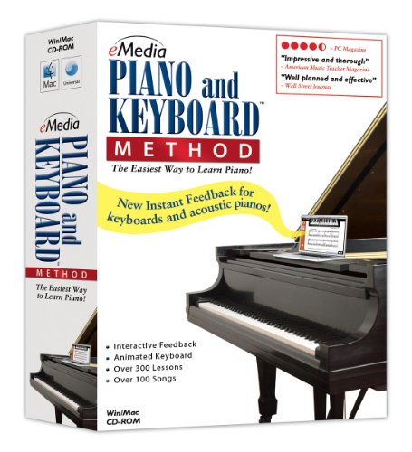eMedia Piano and Keyboard Method v3 (Keyboard Instruction Software)
