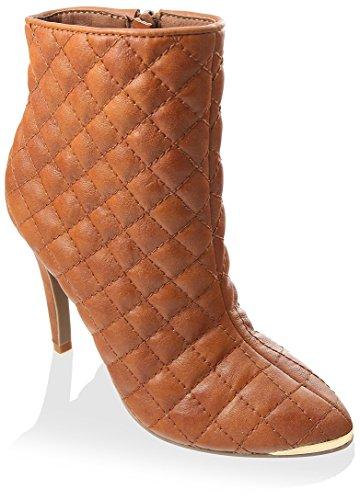 Gc Chaussures Femmes Petra Talon Boot Caramel