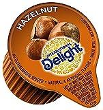International Delight Hazelnut Coffee Creamer Singles 192 Count (2 Packs)