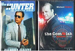 The Commish : The Complete Uncut Series - Seasons 1-5 : Run Time 73 Hours 41 Minutes , Hunter Complete Uncut Series : Seasons 1-7 : 152 Episodes - Run Time 120 Hours 15 Min : 2 Pack Gift Set