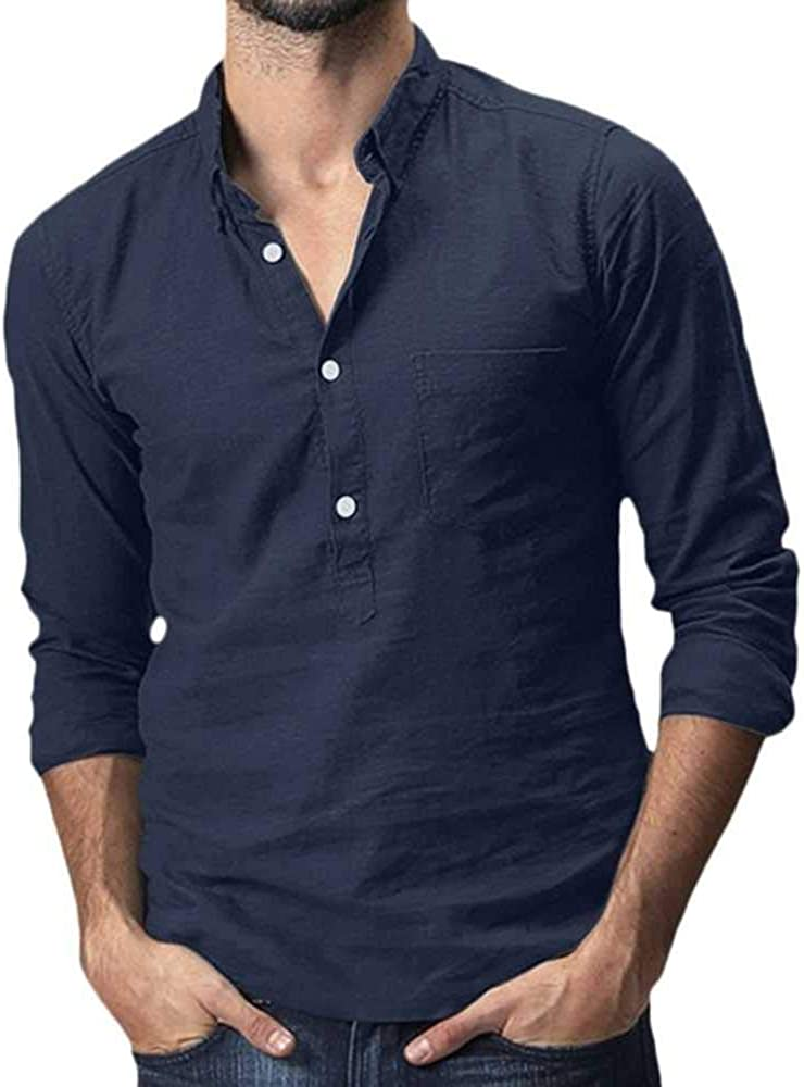 buena calidad Camisa de la marca Panasiam XXL y XXXL 4 tallas: M con botones de madera modelo Fisherman XL 3 colores L 100 /% algod/ón natural Fina