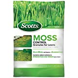 Scotts Moss Control Granules for Lawns, 5,000-sq ft, 18.37 Pound
