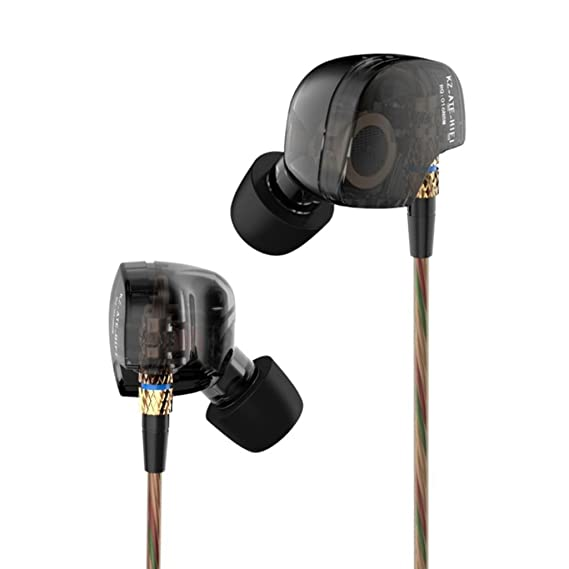 508f1ed1356 KZ ATE KZ-ATE Dynamic Balanced Armature IEMS In Ear HIFI Monitors DJ Studio  Stereo