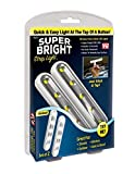 Tools & Hardware : Super Bright Strip Light: 2 Pack Wireless Peel and Stick LED Lights - Tap Light, Touch, Night, Utility, Battery Operated, Under Cabinet, Shed, Kitchen, Garage, Basement (2-Pack)