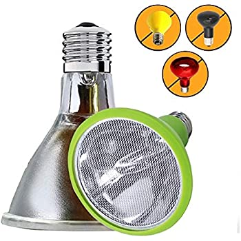 Amazon Com Sparkzoo Carbon Fiber Far Infrared Heating Lamp Light Bulb 75w Infrared Heat