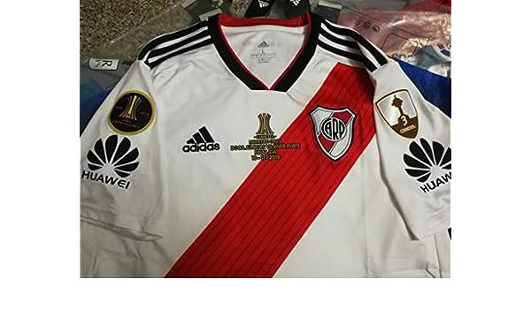 Amazon.com : Retro River Plate CONMEBOL Libertadores Final Version : Sports & Outdoors