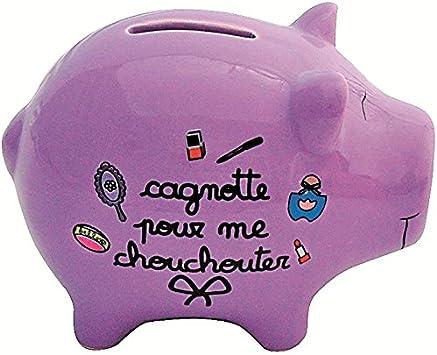 TIRELIRE COCHON CAGNOTTE POUR ME CHOUCHOUTER