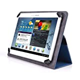 Mach Speed Trio Stealth G2 10.1'' Tablet Case - UniGrip 10 Editon Folio Case - PEACOCK BLUE - By Cush Cases