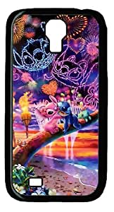 Mystic Zone Classic Cartoon Lilo and Stitch Case for Samsung Galaxy S4 Hard Cover Fit Cases SGS1041 by ruishername
