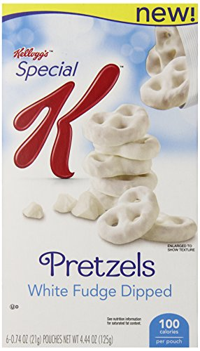 Special K White Fudge Pretzels, 4.44 Ounce