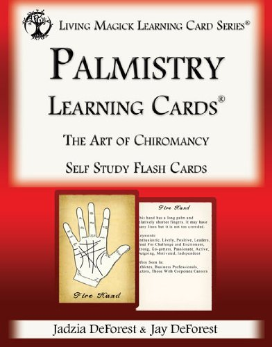 Palmistry Cards - Palmistry Learning Cards - Living Magick (Living Magick Learning Cards)