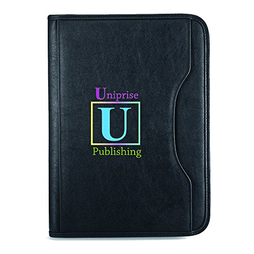 Deluxe Executive Padfolio - 13 Quantity - $26.60 Each - BRANDED / EMBROIDERED with YOUR LOGO / CUSTOMIZED by Sunrise Identity