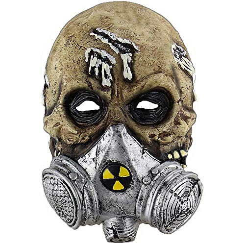 Halloween Masks for Adults - Terror Scary Gas Mask - Party Scary - Nuclear Atomic Biochemical - Alien Masks -