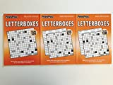 Issue numbers 126, 127 and 128 of Letterboxes from Penny Press