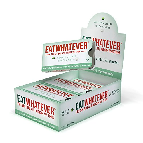 Eatwhatever Breath Freshening System, Peppermint, 90 Servings by Eatwhatever