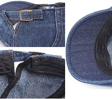VANKER Newsboy Hat Berets Denim Classic Ivy Flat Cap Fashion Adjustable for Unisex Adults