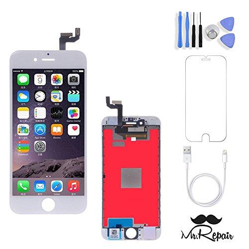 iPhone 6s Screen Repair Kit Premium w/ Tools (White) LCD ...