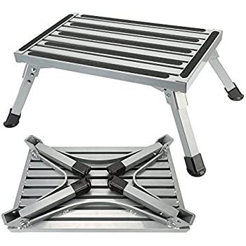 Amazon Com Step Stool Folding Aluminum Rv Step Platform