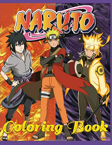 Naruto  Coloring Book  60 Pages For Coloring For Children And Adults. For All Fans Of The Cartoon Hero