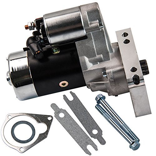 - For Chevy Chrome Mini Starter 3HP 153 or 168 Tooth 327 350 400 SBC