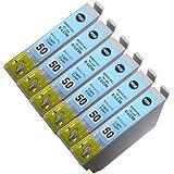 エプソン汎用インク ICLC50対応汎用インク ライトシアン6本