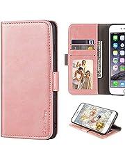Nokia 1.4-fodral, plånboksfodral i läder med kontanter och kortplatser mjukt TPU-bakstycke magnet flip fodral till Nokia 1.4