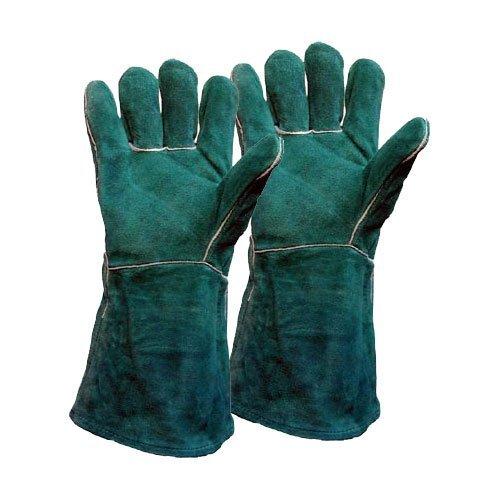 (Precise Engineered Welders Gauntlet Gloves Green XL [1 pair] - w/3yr Rescu3Â Warranty by SINWEY TOOLSÂ)