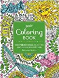 Deborah Muller: Posh Adult Coloring Book : Inspirational Quotes for Fun & Relaxation (Paperback); 2016 Edition