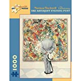 Norman Rockwell the Connoisseur 1000 Piece Puzzle