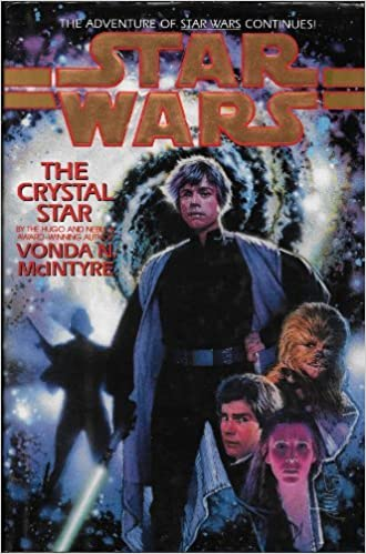 The crystal star Cover