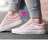 Custom Crystal Bling Rhinestone Pink Vans